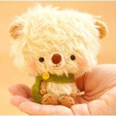 Handmade bears Amigurumi Doll, Plush Dolls, Cute Teddy Bears, Bad Hair Day, Lana, Creations, Crochet, Softies, Yellow