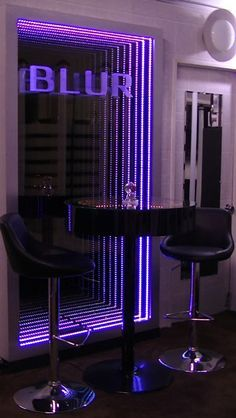 Led Mirror, Mirror Art, Mirror With Lights, Led Infinity Mirror, Infinity Lights, Infinity Spiegel, Infinite Mirror, Infinity Table, Mirror Illusion