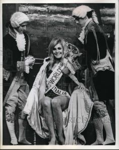 1968 Press Photo Miss World Penelope Plummer as She Wins Title in London