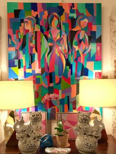 Add color to your walls at Mecox Palm Beach! #interiordesign #home #decor #design #art