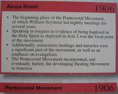 pentecostal movement 1906