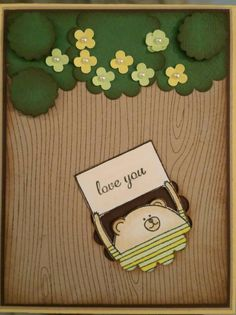 Check out this item in my Etsy shop https://www.etsy.com/listing/219911014/stampin-up-cheerful-critter-i-love-you