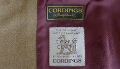 """Sin dudas Cordings es el proveedor completo, usted lo tiene todo bajo un mismo techo""""; Duque de Wellington, cliente de Cordings.     Sin tradición nos quedamos sin identidad. La historia da"""