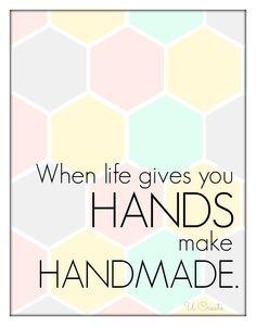 make handmade!