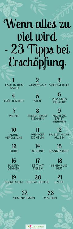 Wenn alles zu viel wird - 23 Tipps zur Selbsthilfe bei Erschöpfung No more exhaustion and excessive demands! The feeling that everything is too much is human. Here you will find help Good To Know, Feel Good, Mental Training, Beginner Yoga, Les Sentiments, Blog Love, Anti Stress, Psychology Facts, Better Life