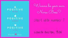 Wanna be your own Nurse Boss-