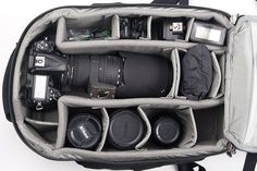 A camera bag is an essential bit of kit to keep your camera, lenses and other bits and pieces safe and sound. I find the rucksack the best type of camera bag and would highly recommend you invest in one.