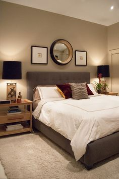 Beautifully designed bedroom with en suite bathroom newhomes