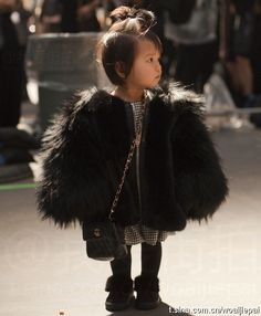 New York Fashion Week - Wanna have that child. So adorable