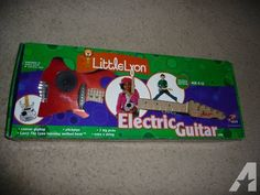 Little Lyon Electric Guitar! Great Christmas Gift!!! - $40