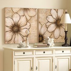 Roman de Fleurs Giclee Prints $279 #art #decor #wall #flowers