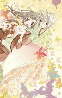Find images and videos about love, anime and kamisama kiss on We Heart It - the app to get lost in what you love. Manga Couple, Anime Couples Manga, Manga Anime, Kamisama Kiss, Anime Pixel Art, Anime Art, Dora Funny, Tomoe And Nanami, Chibi Wallpaper
