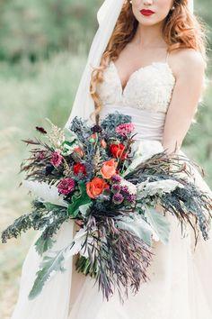 Organic Botanical Bridal Inspiration