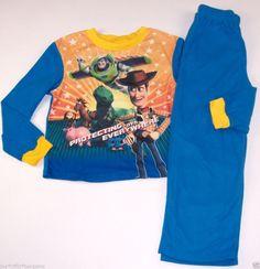 Disney Pixar Toy Story Boys Sleepwear Pajama Set Size 8 Multi-Color #DisneyPixar #PajamaSets