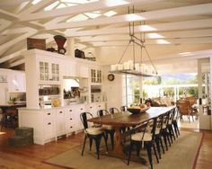 Informal Dining Room  Farmhouse Design, Pictures, Remodel, Decor and Ideas - page 13