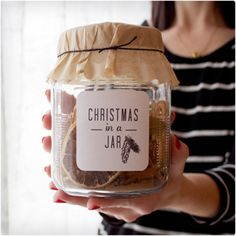 Christmas In a Jar... this website has ideas for a million DIY jar gifts! yes please!