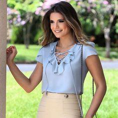 Nossa blusa basic linda!!! @arianecanovas #winter17 #beUniqueChic