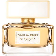 Givenchy Dahlia Divin Eau de Parfum (151 CAD) ❤ liked on Polyvore featuring beauty products, fragrance, perfume, beauty, makeup, gold perfume, flower perfume, edp perfume, eau de parfum perfume and givenchy fragrance