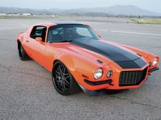 ♠ 1973 Camaro Z28 #Car #Automotive