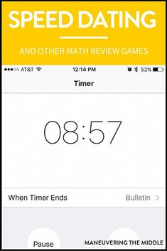 Math review games can breath life into your classroom and teaching. Most students enjoy getting out of their seats and going their work in another part of the class, whether that be with a group or individually. | maneuveringthemid...