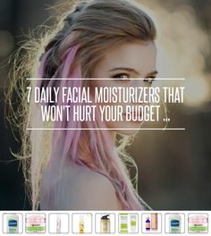 7 #Daily Facial Moisturizers That Won't Hurt Your Budget ... → #Skincare [ more at http://skincare.allwomenstalk.com ]  #Facial #Moisturizers #That #Nature #Fights