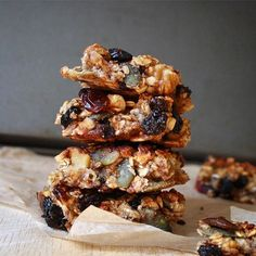 Oat and Banana Granola Bars