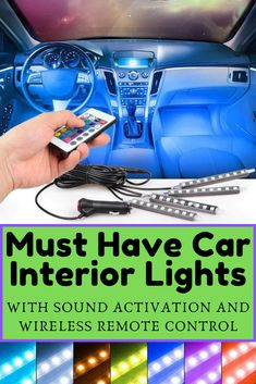 USB Port WE-WIN Car LED Interior Atmosphere Lights,Auto Roof Star led for Car Truck Home Speckle Light