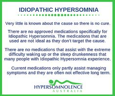 How is Idiopathic Hypersomnia / Hypersomnolence Diagnosed and Managed? Idiopathic Hypersomnia, Ih, Disorders, The Cure, Management, Medical, Medicine, Med School, Active Ingredient