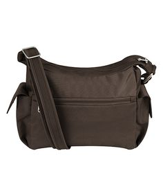 Look at this Chocolate Anti-Theft Light Crossbody Bag on #zulily today!