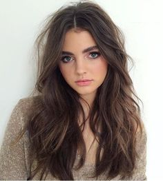 ♥ Pinterest: DEBORAHPRAHA ♥ messy hair with waves hairstyle ✨