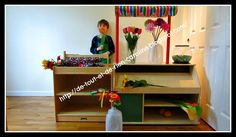 Everything and nothing: Activities for Preschool: Dramatic play flower shop - Visit the florist in dramatic corner!