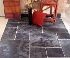 Tumbled Black Limestone - Limestone