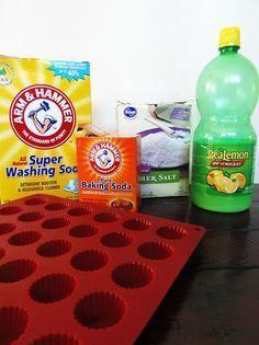 How to Make Dishwasher Detergent Tabs
