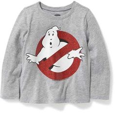 Ghostbusters Graphic Tee for Toddler Girls #affiliate