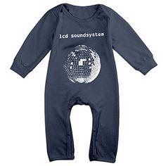 Ellem Cute Lcd Soundsystem Lcd Soundsystem Jumpsuit For Toddler Navy Size 6 M