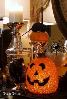 Dining Delight: Halloween Sideboard