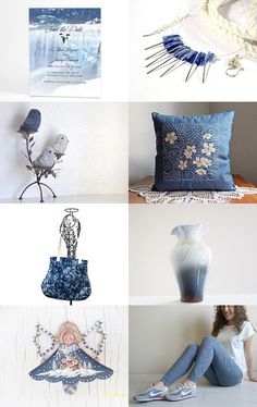 End Of Summer Blues by Arlene on Etsy--Pinned with TreasuryPin.com