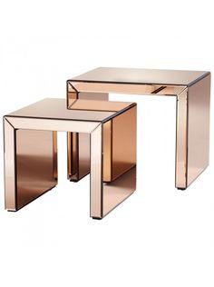 Acadia Nesting Tables, Copper