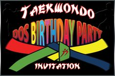 Dos Taekwondo parties are jam-packed with fun and activities, fully organized and supervised by qualified staff, making your Birthday Party a hit with your friends. Sit back and leave it to us! It's Your Birthday, Birthday Parties, Before We Go, Party Package, Art Academy, Taekwondo, Karate, Martial Arts, Neon Signs