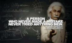 Graphic via Writing About Writing on Facebook -- Albert Einstein Quote