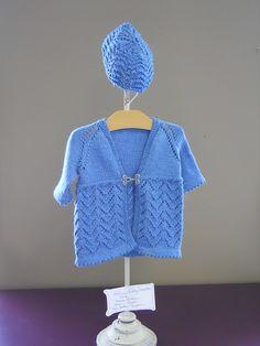 Helena Baby Sweater & Hat