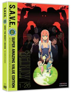 Birdy the Mighty: Decode DVD Complete Series (Hyb) - S.A.V.E Edition - Price: $11.99