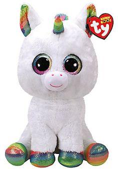 Pixy Unicorn Jumbo Beanie Boo