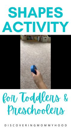 Simple and Fun Activity to Learn About Shapes for Preschool at Home