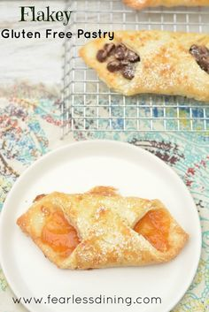 When is the last time you had a flakey gluten free pastry? These gluten free danish with apricot preserves or chocolate are flakey and delicious.
