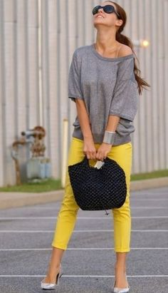 12 denim cropped pants outfit combinations you will love!