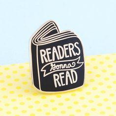 Book Enamel Pin, Pin Game, Bookish Pin, Literary Pin, Literary Gifts, Lapel Pin, Books, Book Pin, Reader