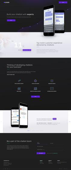 Chatbot Landing Page