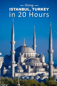 A travel guide to visiting Istanbul, Turkey in a 20 hour layover. We covered all the highlights of things to do and see: Blue Mosque, Grand Bazaar. Europe Travel Tips, European Travel, Asia Travel, Places To Travel, Travel Destinations, Travelling Europe, Travel Couple, Family Travel, Visit Istanbul