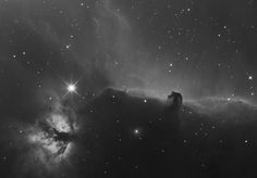 IC 434, horse and flamme, echosud